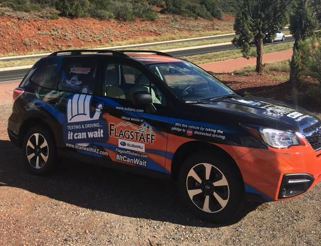 2019 IT Can Wait Campaign Car in Sedona
